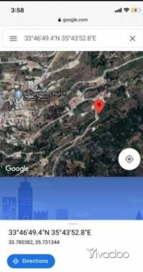 Land in Ain Dara - For Sale Land in Ain Dara (100 cherry trees) Aley