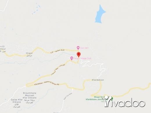 Land in Faraya - A 760 m2 land with an open mountain view for sale in Faraya - Tilal al Assal