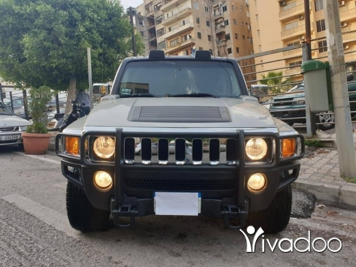 Hummer in Beirut City - Hummer H3 model 2006 full option fat7a jiled very clean one owner tel 03768955