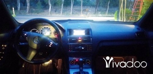 Mercedes-Benz in Zgharta - For sale 2008 look 2011 panoramic 0 accident clean car