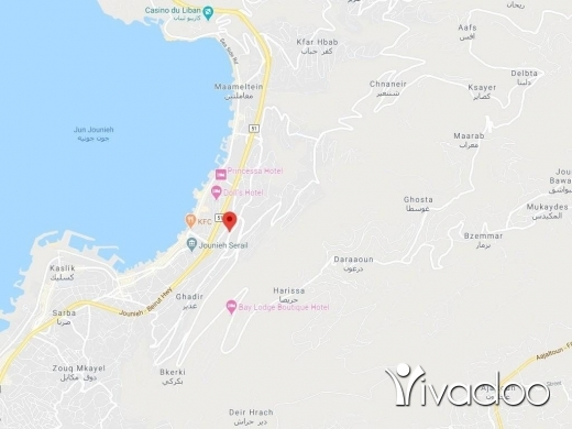 Land in Haret Sakhr - A 3494 m2 land having an open sea view for sale in Haret sakher