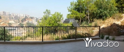 Apartments in Ain Saadeh - A furnished 235 m2 ground floor apartment with a garden for sale or exchange in Ain Saade