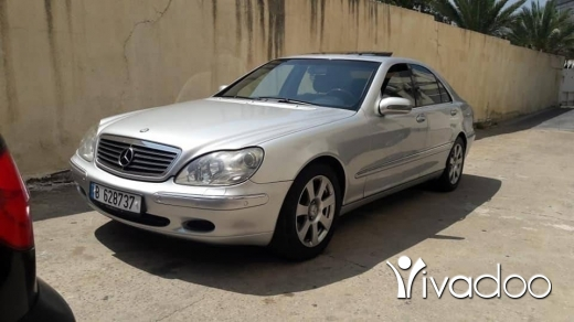 Mercedes-Benz in Dbayeh - S320 model 2002 like new.