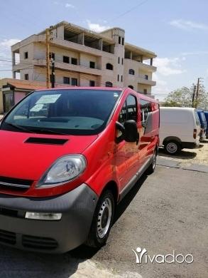 Opel in Beirut City - Opel Vivaro Switzerland Ac shisi Tawil fol Moudel 2004 T03387403 t71368543