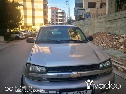 Chevrolet in Beirut City - CHEVROLET TRAIL BLAZER 2005 LADY DRIVEN ONLY 80,000 KILOMETERS MINT CONDITION