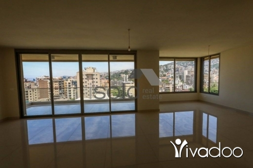 Apartments in Antelias - A 181 m2 apartment for sale in Ant Elias with an open sea view