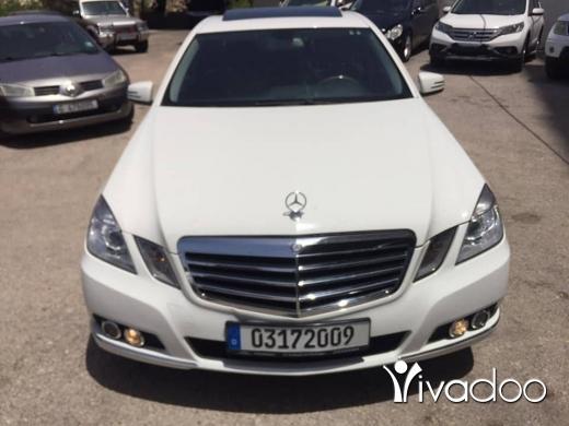 Mercedes-Benz in Tripoli - E 350 mid 2010 full option call 03172009