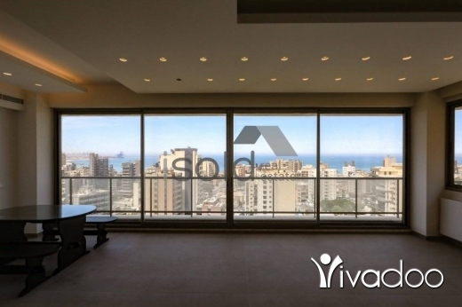 Apartments in Jal el-Dib - A 370 m2 apartment with an open sea view for sale in Jal El Dib