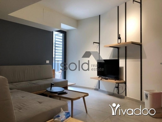 Apartments in Achrafieh - A new furnished 88 m2 apartment with a terrace for sale in Achrafieh
