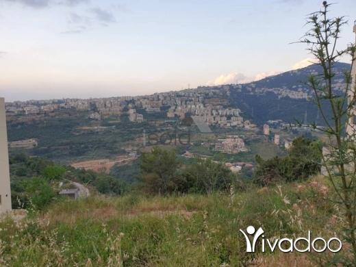 Land in Loueizeh - A 1850 m2 land for sale in Baabda / Louayze / Lwaizeh