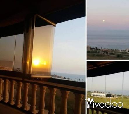 Apartments in Beirut City - طابق كامل مؤلف من شقتين في الجية كل شقة مساحتها 170متر الشقتين مساحتها 340متر السعر للشقتين 130000$