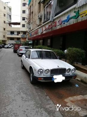 Jaguar in Beirut City - Jaguar Daimler xj