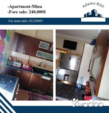 Apartments in Tripoli - شقة مميزة, مفروشة للبيع في طرابلس الميناء,