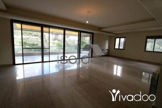 Apartments in Yarzeh - Magnificent 300 m2 simplex apartment with a garden for sale in Baabda - Yarzeh
