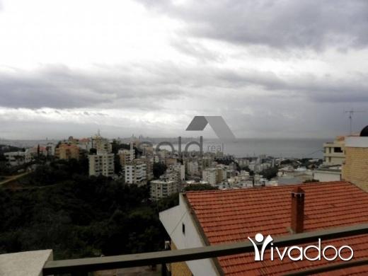 Apartments in Awkar - 260 m2 apartment with 150 m2 garden / terrace for sale in Aoukar / Awkar  (sea & mountain view)