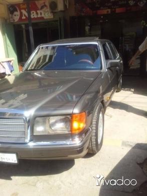 Mercedes-Benz in Tripoli - مرسيدس 300 se موديل ٩٠
