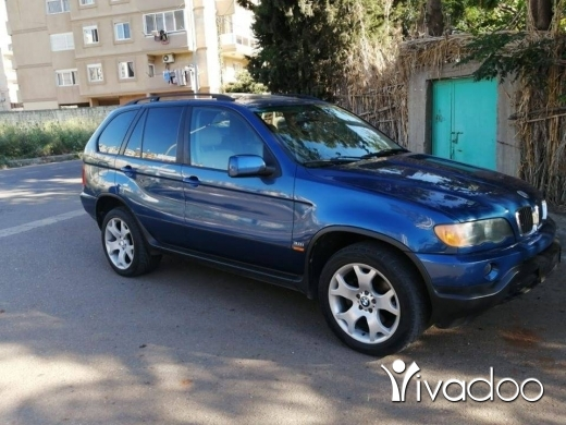 BMW in Tripoli - BMW x5 model 2003 khare2 bel nadafe kayen cherkeh moukayef talej ankad