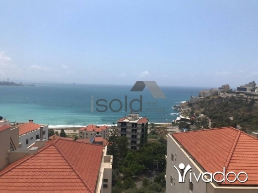 Chalet in Jounieh - A 70 m2 chalet with a terrace and an open sea view for sale in Jounieh - near Casino Du Liban