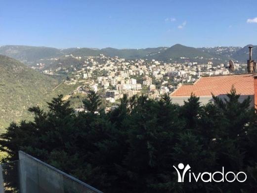 Villas in Beirut City - فيلا مفروشة للبيع في أدما -جونية5 طوابق
