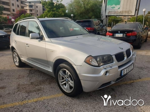 BMW in Beirut City - 2005 bmw x3 M package 3.0 full options 03939299