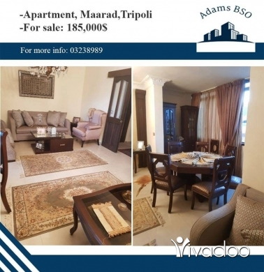 Apartments in Tripoli - شقة للبيع في طرابلس المعرض, خلف صيدلية مايا