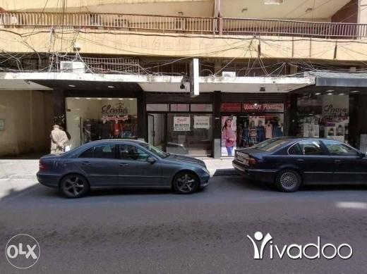 Apartments in Tripoli - محل للبيع ،طرابلس شارع المطران