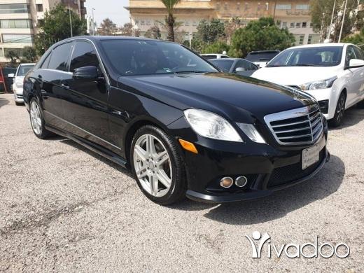 Mercedes-Benz in Beirut City - 2010 mercedes E350 black premium 03939299
