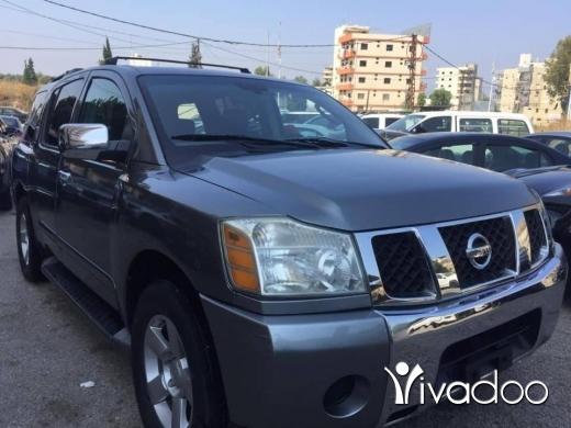 Nissan in Tripoli - Nissan armada mod 2005 full option call 03172009