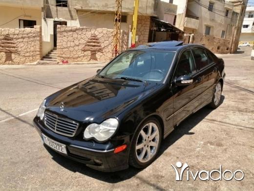 Mercedes-Benz in Tripoli - C230 model 2004 full options
