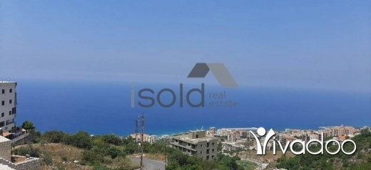 Land in Halate - A 870 m2 land with an open sea view for sale in Halat