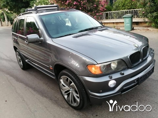 BMW in Beirut City - X5 (6 cylindre) 3.0 mod 2002 phone 76 50 54 52