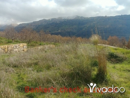 Land in Mazraat Kfardebiane - 2900 m2 land for sale in  Mazraat Kfardebian ( Faqra / Fakra ) with a Panoramic mountain view
