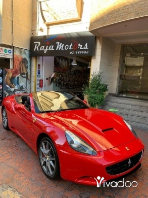 Ferrari in Beirut City - Ferrari California Convertible 2011