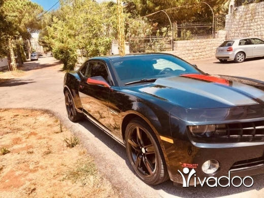 Chevrolet in Beirut City - 45th anniversary edition (0ne of 8282 Camaro 2012 all over the world