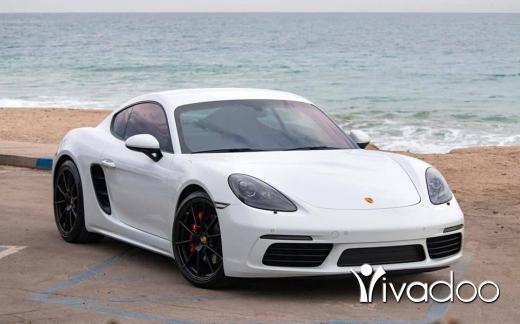 Porsche in Beirut City - 2017 Porsche Cayman S 718