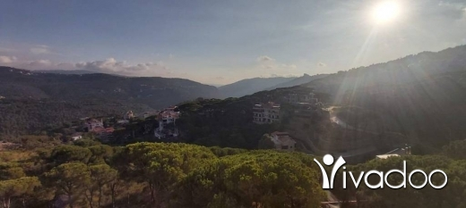 Apartments in Broumana - A furnished 250 m2 duplex apartment with a mountain view for sale in Broumana / Oyoun