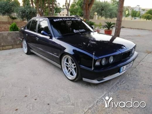 BMW in Beirut City - E34 model 1989 _535-otomatic full lok m5