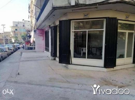 Apartments in Tripoli - محل ثلاث ابواب للبيع في القبة - طرابلس