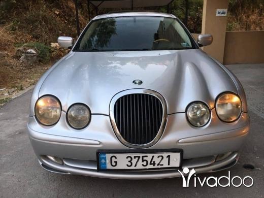 Jaguar in Beirut City - Jaguar S type model 2000. V8 super clean