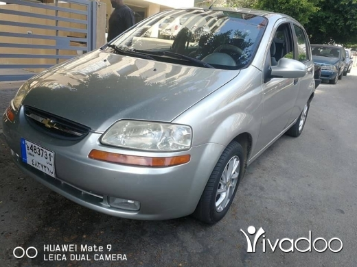 Chevrolet in Beirut City - Chevrolet Aveo 2005 in excellent condition