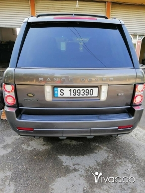 Rover in Beirut City - Range Rover Vogue