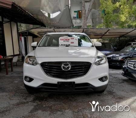 Mazda in Beirut City - CX9 white 2013 Turing AWD navigation