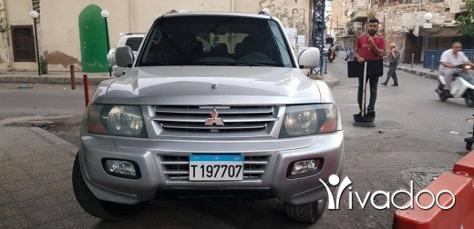 Mitsubishi in Tripoli - Pajero model 2002 full option mafi hawades