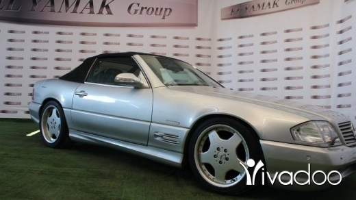 Mercedes-Benz in Tripoli - Mercedes SL 300 year 1992 with final edition kit