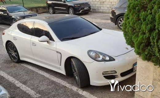 Porsche in Tripoli - Porsche panamera S - v8 model 2010 full