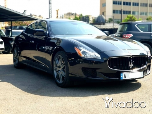 Maserati in Beirut City -