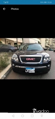 CMC in Beirut City - GMC Acadia 2009 7 seats