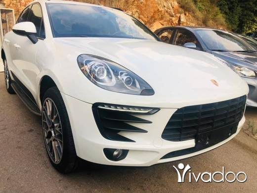 Porsche in Beirut City - Porsche Macan 40000 km 2017