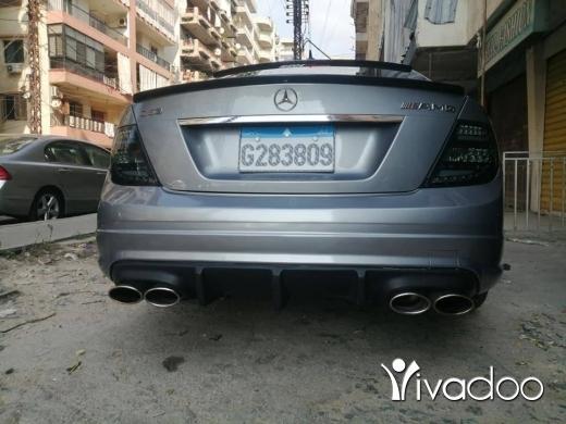 Mercedes-Benz in Tripoli - Mercedes 204 look 63 amg