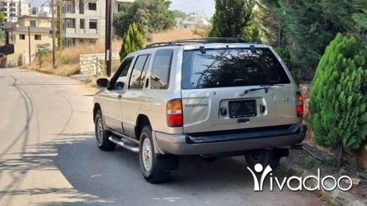 Nissan in Tripoli - Patphinder 97